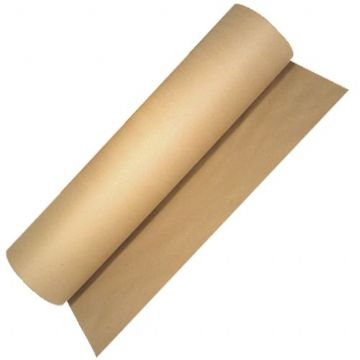Strong Brown 90gsm 600mm Kraft Wrapping Paper on a Roll